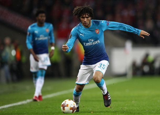 Arsenal Elneny Europa League