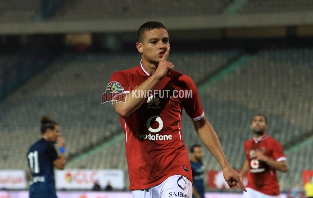 Saad Samir scores for Al Ahly vs ENPPI