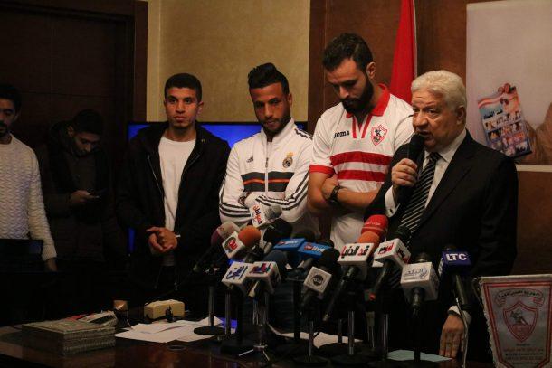 OFFICIAL: Zamalek sign FC Masr defender Mohamed Abdel-Ghany