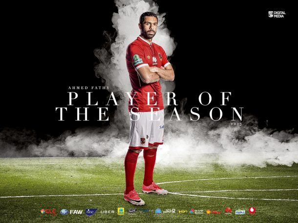 Ahmed Fathi scoops Al Ahly Player of the Year award
