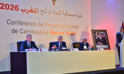Morocco world cup bid press conference