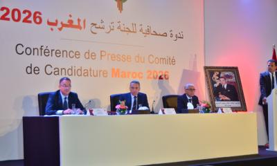 Morocco world cup bid press conference