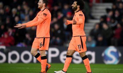 Mohamed Salah Andy Robertson