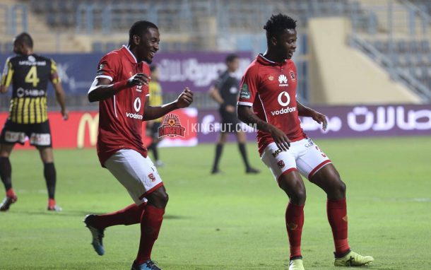 Mahlambi, Maaloul included in Al Ahly squad for Espérance clash