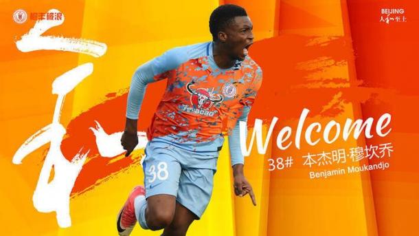 OFFICIAL: Benjamin Moukandjo joins China's Beijing Renhe on loan