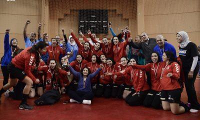 Al Ahly women handball team