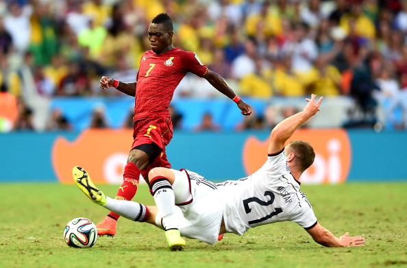 Ghana's Christian Atsu believes Egypt can go far in Russia