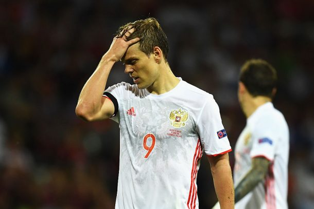 Russia forward Aleksandr Kokorin to miss World Cup with knee injury