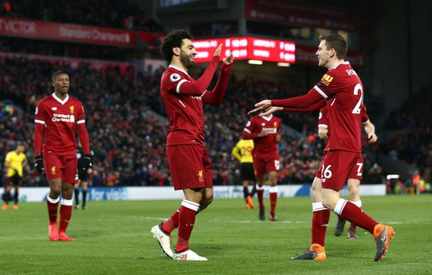 Andy Robertson: Mohamed Salah stole the show from me