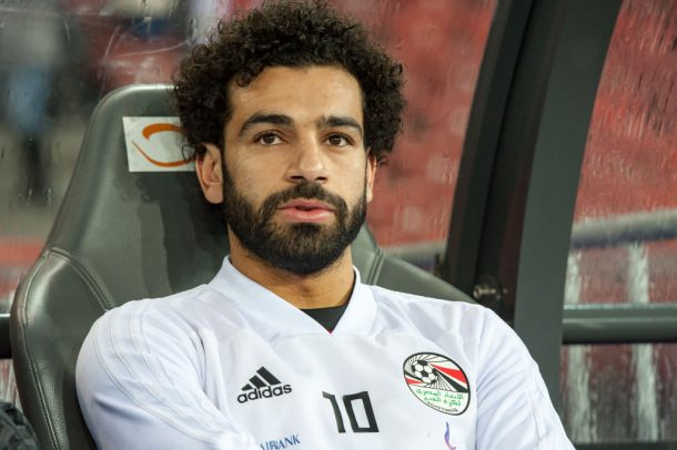 Mohamed Salah meets his doppelganger in Egypt