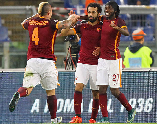 Gervinho: Salah is at same level as Cristiano and Messi