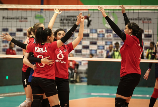 Ahly volleyball african champions