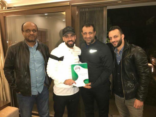 Abdallah El-Said sign for Zamalek