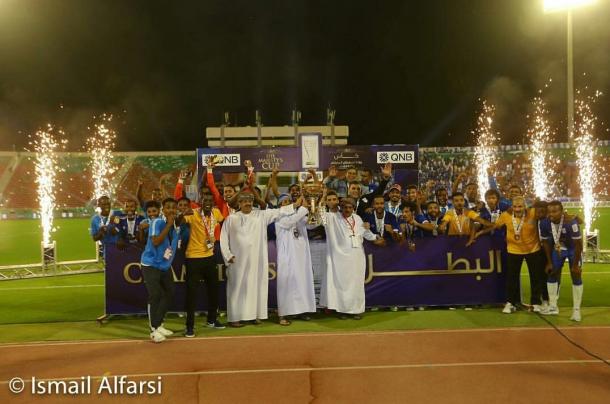 VIDEO: El-Gamal, Homos lead Oman's Al Nasr to first cup title in 13 years