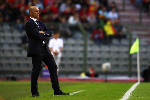 Belgium coach Roberto Martinez