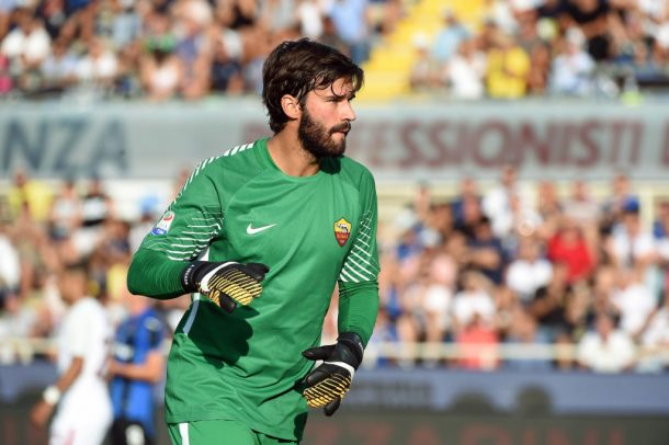 Roma's Alisson: It will be beautiful to meet Salah again
