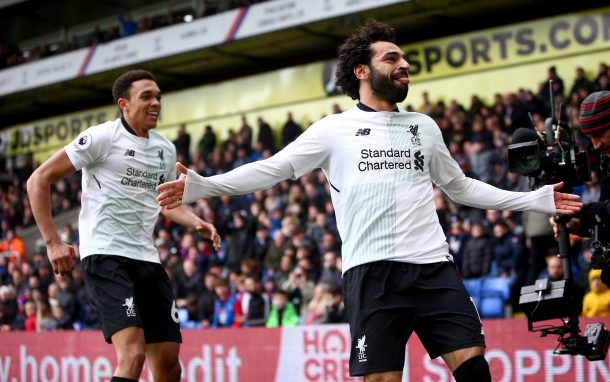 Mohamed Salah nominated for PFA Player of the Month award