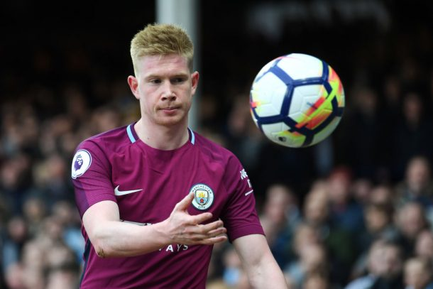 De Bruyne votes for rival Mohamed Salah to win PFA POTY award