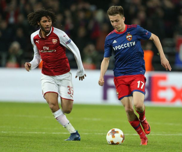 Elneny's two assists help Arsenal escape CSKA Moscow scare