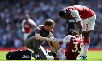 Mohamed elneny injury