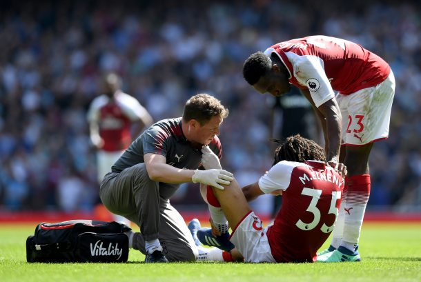 Arsenal hope Elneny will play again this season despite suffering ankle injury