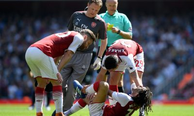 Arsenal elneny injury