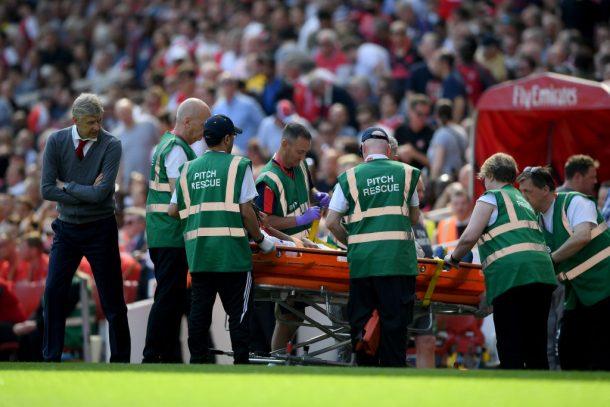 Arsene Wenger: Mohamed Elneny injury doesn't look good