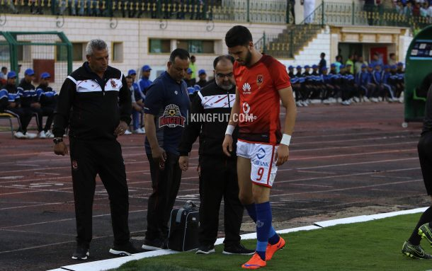 Walid Azaro ruled out of Cairo derby, Maaloul fit
