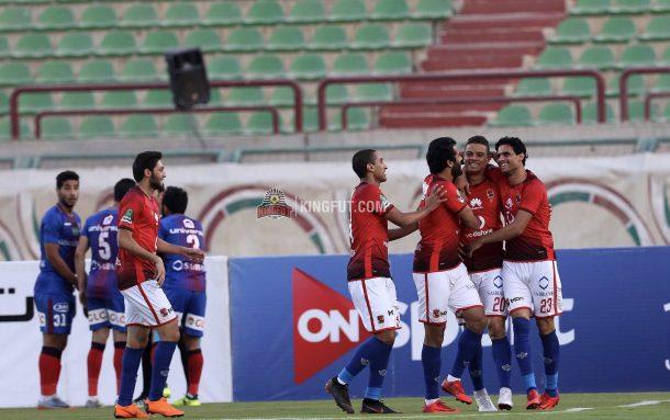 Al Ahly break El Tersana record for most league goals in a season