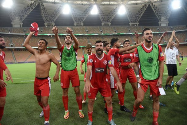 Al Nejmeh to face Al Ahly in Arab Championship after win over Club Africain