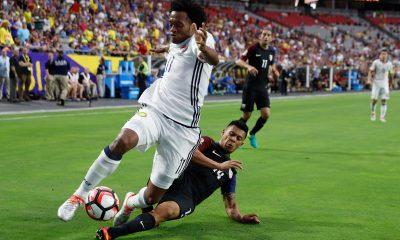 Juan Cuadrado Mohamed Salah