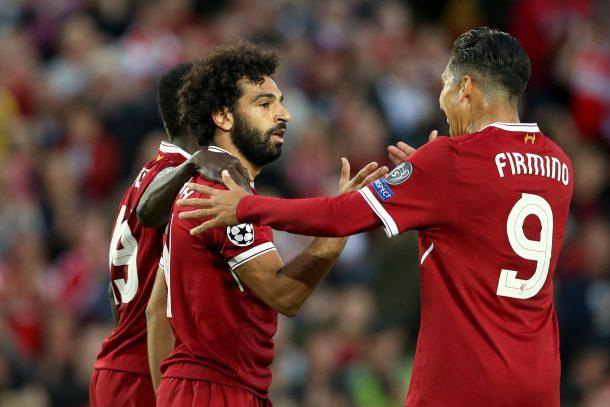 Klopp on Mohamed Salah Firmino Mane