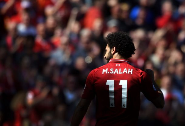 Liverpool attacker Salah: I'm not at Messi or Ronaldo level class=