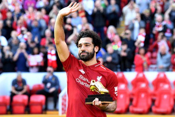 "Mohamed Salah ""very proud"" of Premier League Golden Boot win"
