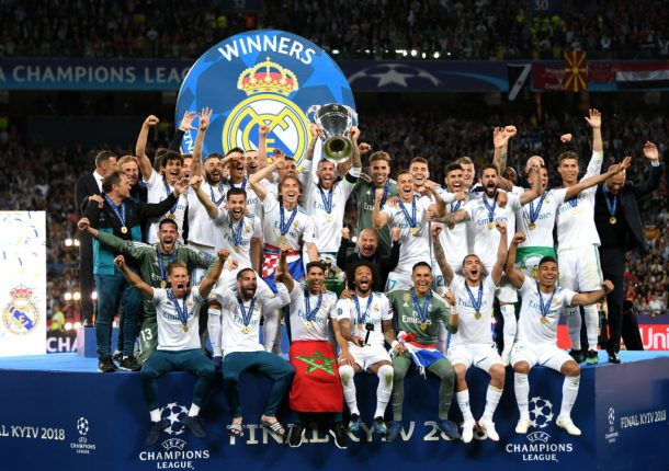 PHOTOS: Real Madrid beat Liverpool to win third consecutive Champions League