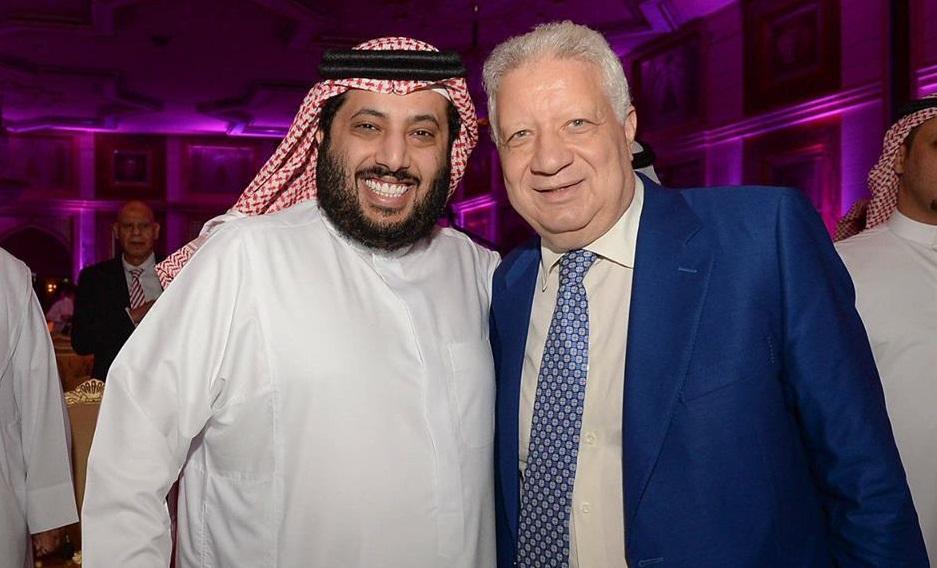 Mansour names Turki Al-Sheikh as Zamalek's honorary president