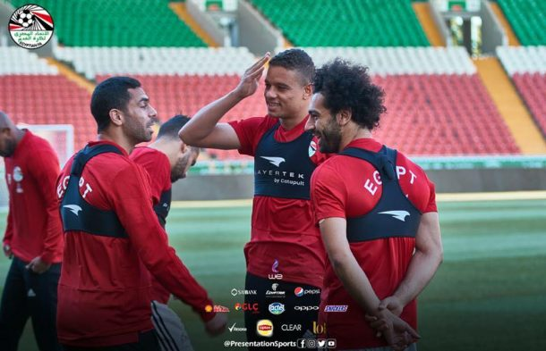 Mohamed Salah in starting line-up for Egypt v Russia