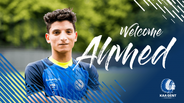 KAA Gent announce signing of Ahmed Mostafa from Petrojet