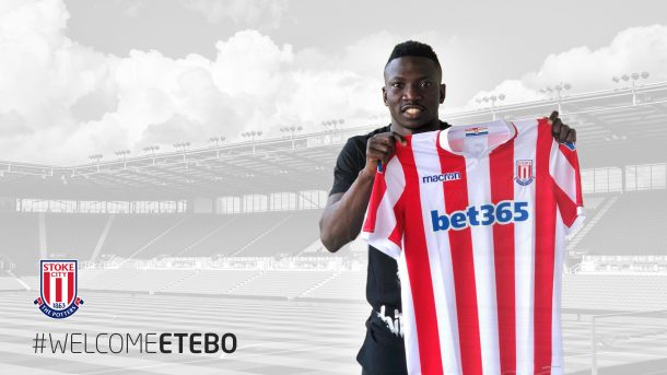 Stoke City sign Nigeria international Peter Etebo on five-year deal