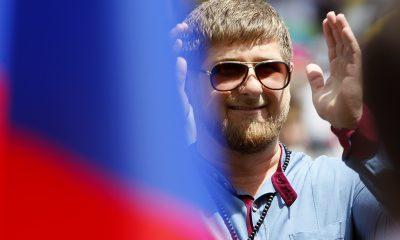 Chechnya's President Ramzan Kadyrov Mohamed Salah