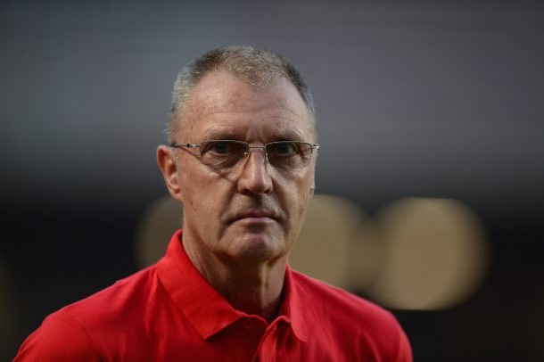 Former Sfaxien manager Ruud Krol