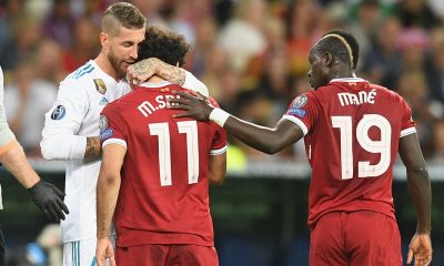 Mohamed Salah Sergio Ramos