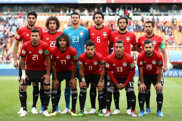 Egyptian national team arrive in Cairo without five players
