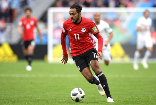 Egypt defender scores calamitous own goal against Russian Federation