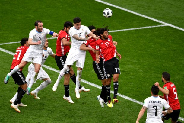Goalscorer José Giménez pleased with 'tough' Egypt win