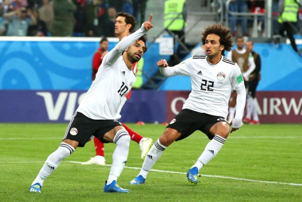 Saudi Arabia beats Egypt 2-1 at World Cup