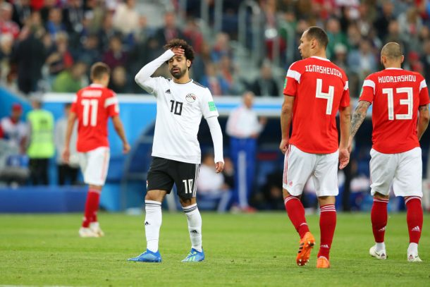 OFFICIAL: Egypt knocked out of 2018 World Cup