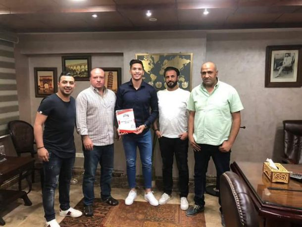 Al Masry complete signing of Palestine international Mahmoud Wadi
