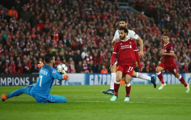 Alisson reveals Salah text message before goalkeeper's move to Liverpool