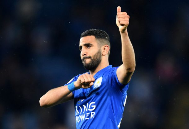 Algeria winger Riyad Mahrez joins Manchester City for club-record fee